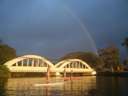 oahu-rain-paddling